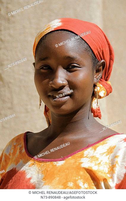 Woman, Djenne, Mali