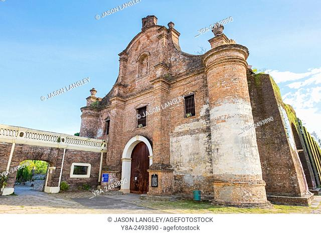 Our Lady of the Assumption Church (Nuestra Señora de la Asuncion) in Santa Maria, Ilocos Sur, Ilocos Region, Philippines
