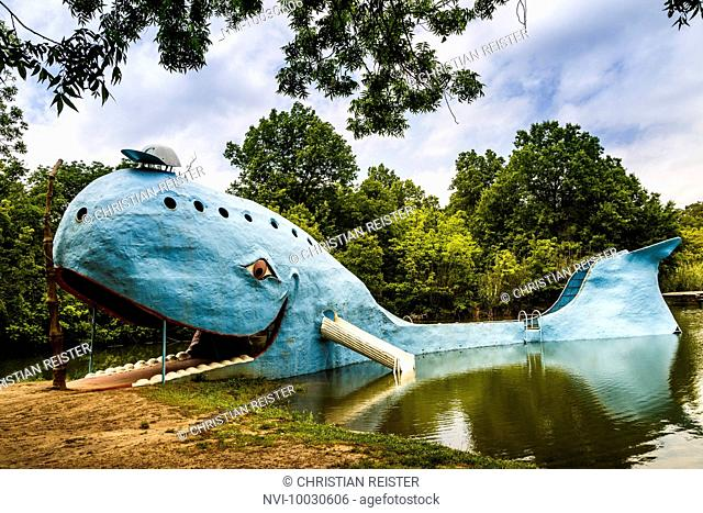 The Blue Whale, Catoosa, Historic Route 66, Oklahoma