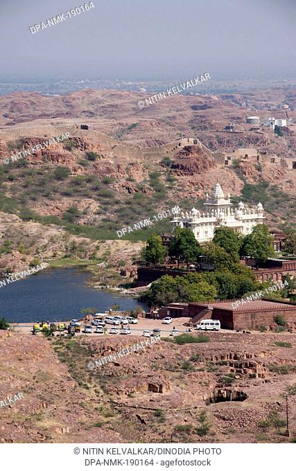 Jaswant Thada cenotaph Jodhpur Rajasthan India Asia