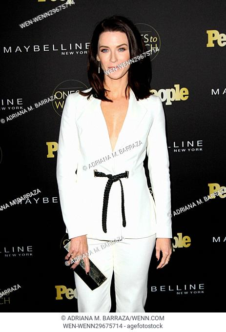 People's One's To Watch Event Celebrating Hollywood's Rising & Brightest Starts held at E.P. & L.P. in Los Angeles Featuring: Bridget Regan Where: Los Angeles