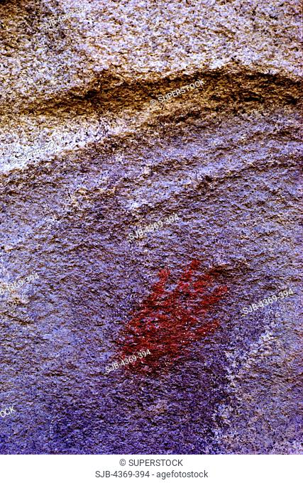 Pictograph of Human Hand