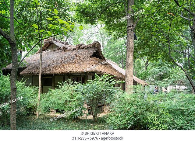 The cottage, Du Fu's cottage(Du Fu caotang), Chengdu, Sichuan Province, PRC