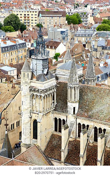 Notre Dame church, Dijon, Côte d'Or, Burgundy Region, Bourgogne, France, Europe