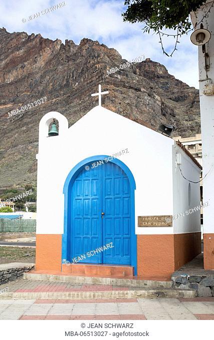 Church Ermita de San Pedro in Valle Gran Rey