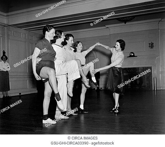 Dance Class, Harris & Ewing, 1936
