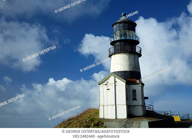 Cape Disappointment Lighthouse, Cape Disappointment State Park, Lewis and Clark National Historical Park, Washington