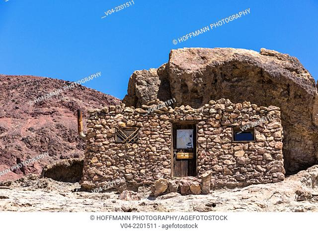 Historic building in Calico Ghost Town, California, USA