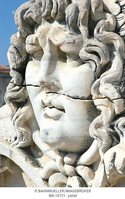 Turkey Didyma south ageian coast place of an important oracle head of Medusa