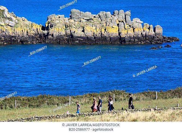 The island of Landes, L'île des Landes, Pointe du Grouin, Cancale, Brittany, Bretagne, France