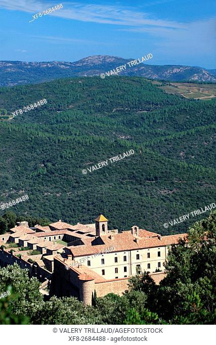 Collobrieres, Monastere de la Verne, Massif des Maures, Var, Provence-Alpes-Côte d'Azur, France