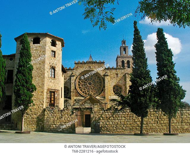 Monastery of Sant Cugat del Valles, Barcelona, Spain