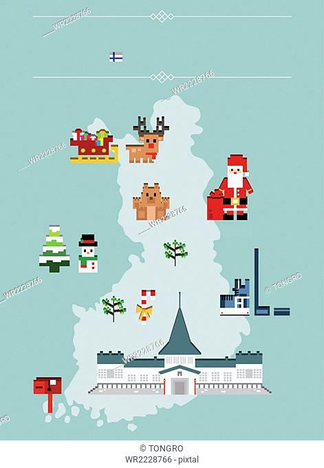Global landmarks in Finland