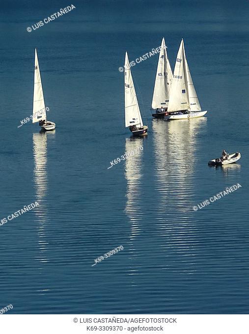 Lake Wakatipu. Queenstown. . South Island. New Zealand