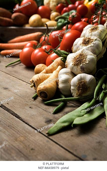 Fresh vegetables Sweden