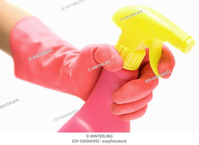 Wipe White Background Cleaner Stock Photos And Images Age