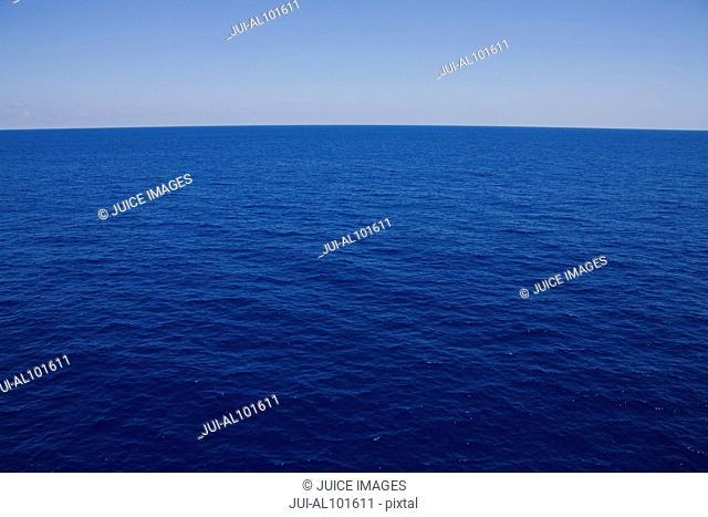Ocean at Aldabra Atoll, Seychelles