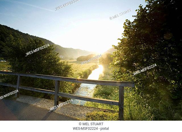 Germany, Bavaria, Trubachtal