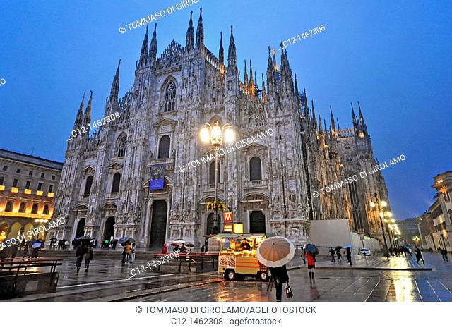 Cathedral, Milan, Lombardy, Italy