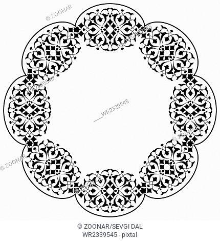 Ottoman motifs design series ninety three