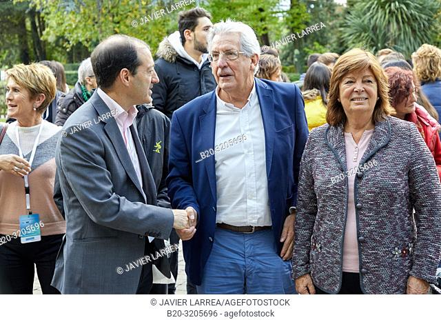 Maria Vallet-Regi (King Jaime I Prize for Basic Research in 2018) and Pedro Miguel Echenique Landiribar (Professor of Condensed Matter Physics from the...