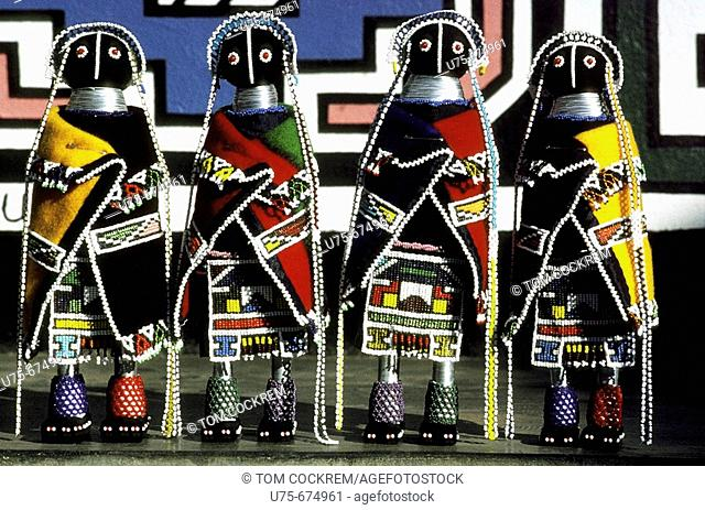 ndebele,dolls,,KwaNdebele,,South,Africa