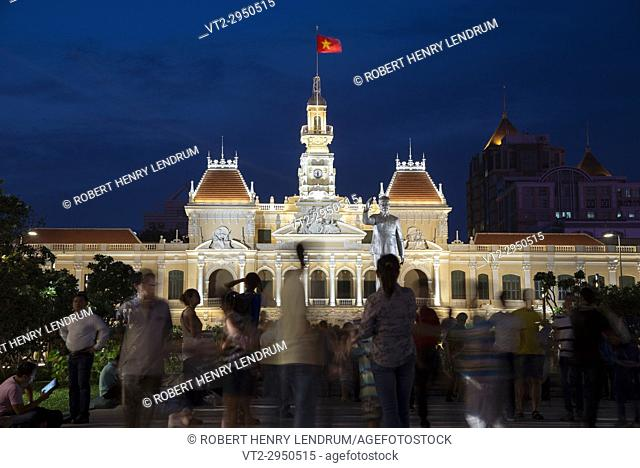 City Hall, Ho Chi Minh, Vietnam