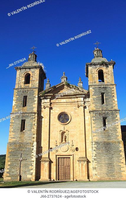 Monastery of St. Andreww. XVII-XVI century. Vega de Espinareda. León