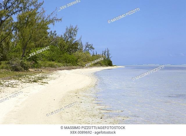Beach of Ile aux Benitiers, Mauritius