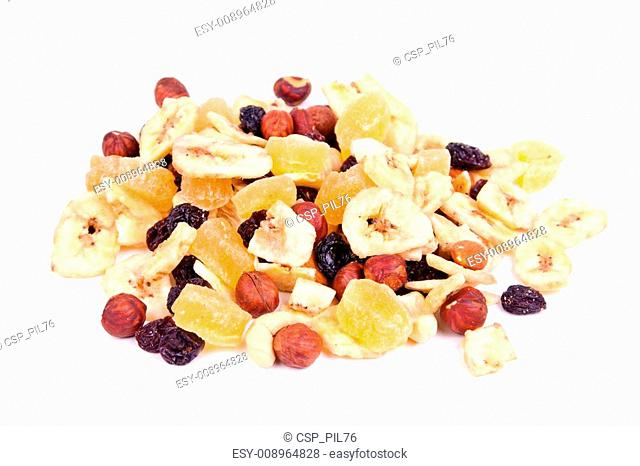 nuts, raisin, dried fruit