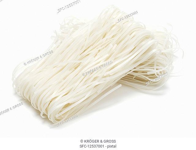 Oriental wide rice noodles