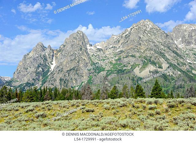 Grand Teton National Park Wyoming WY United States