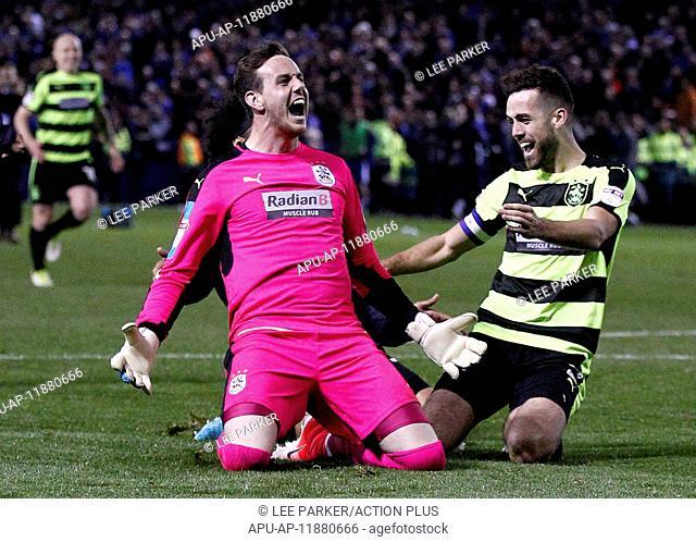 2017 Championship Playoff Semi-Final Sheffield Wednesday v Huddersfield May 17th. May 17th 2017, Hillsborough, Sheffield