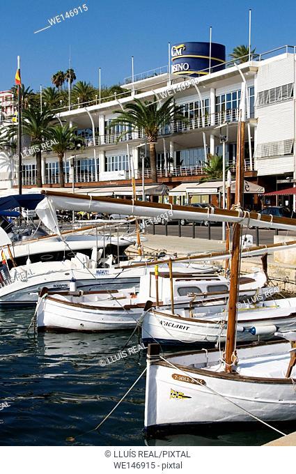Club Maritimo de Mahon, Mahon, Balearic Islands, Spain