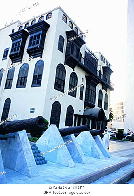 Beit Al Balad (House of the Country), the main office for Tourism, Education & Heritage in Jeddah, Saudi Arabia