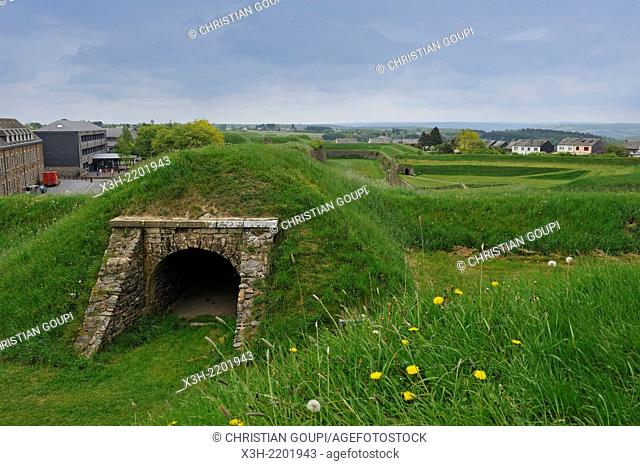 the fortified city of Rocroi, Ardennes department, Champagne-Ardenne region of northeasthern France, Europe