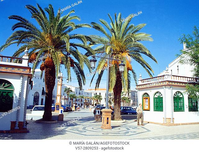 Street. Olivenza, Badajoz province, Extremadura, Spain