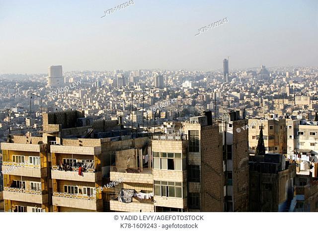 Skyline of Amman, Amman, Jordan