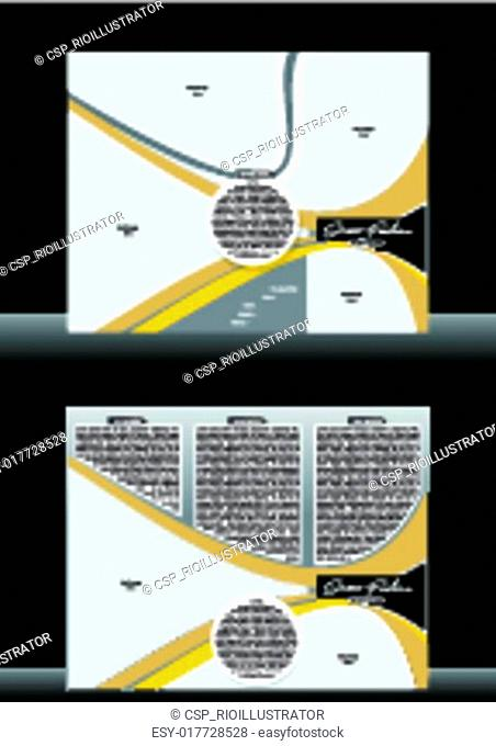 Tri Fold Fashion Street Brochure