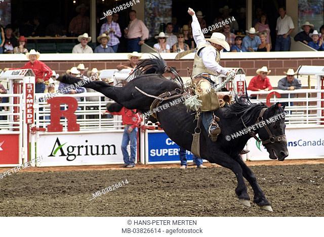 Canada, Alberta, Calgary, Stampede, rodeo, cowboys, riders