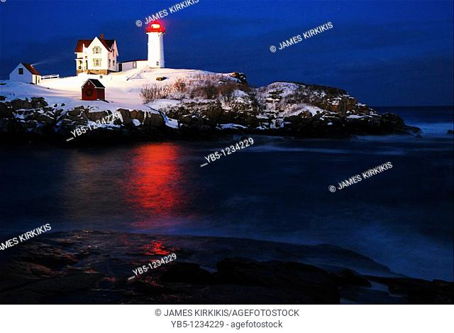 Twilight, Nubble Lighthouse