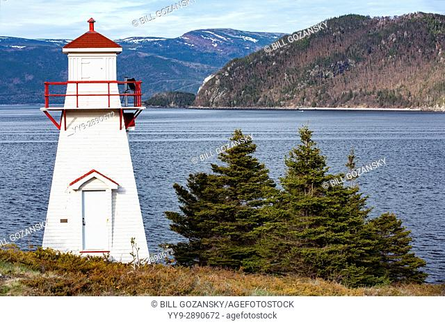 Woody Point Lighthouse - Woody Point, Gros Morne National Park, Newfoundland, Canada