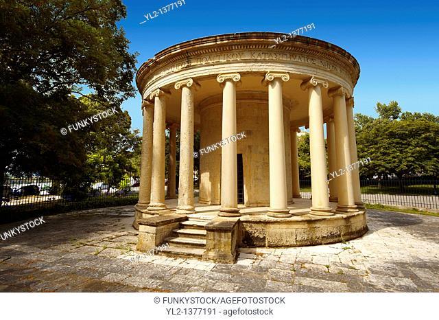 The Maitland Monument, Corfu City, Greek Ionian Islands