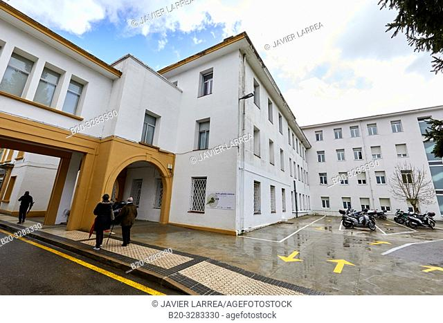 Amara building, Hospital Donostia, San Sebastian, Gipuzkoa, Basque Country, Spain