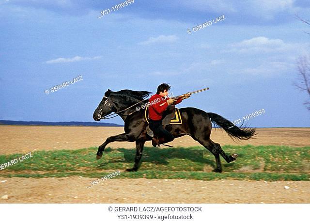 Mario Luraschi Stunt and Horse Show
