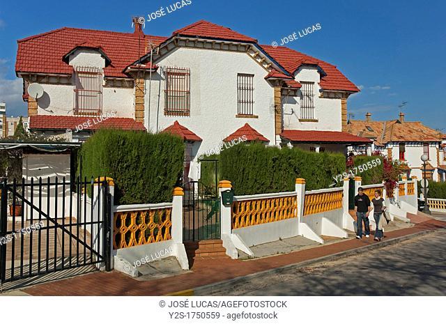 Queen Victoria district-Barrio Obrero, Huelva, Spain