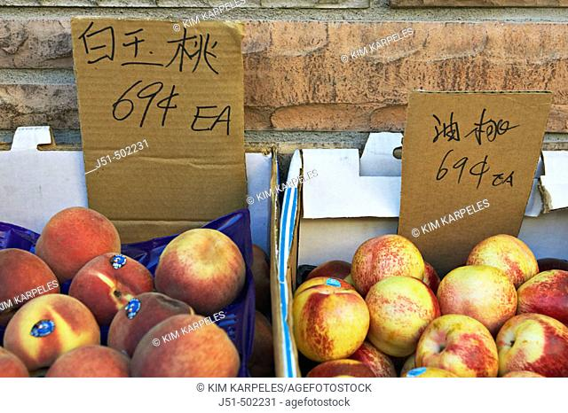 Chinese fruit chinatown Stock Photos and Images | age fotostock
