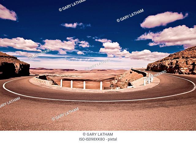 N9 Road through Atlas Mountains, Morocco