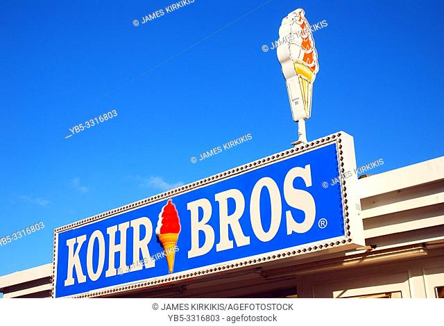 Kohr Brothers Ice Cream on the Jersey Shore