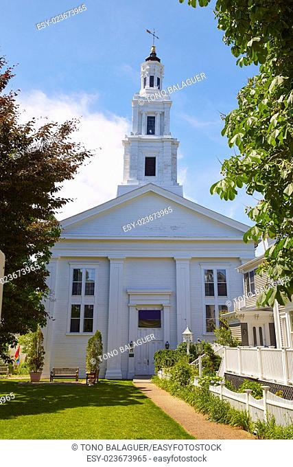 Cape Cod Provincetown Universalist Meeting House in Massachusetts USA